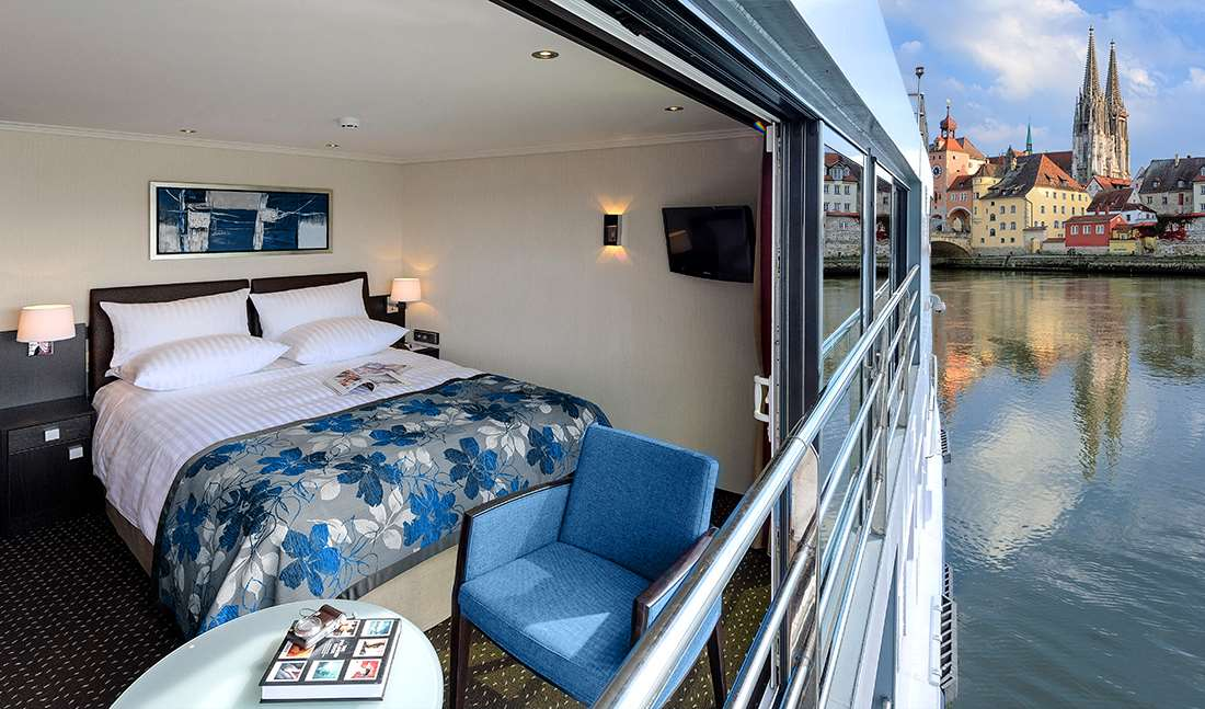 Small Ship Voyages Book Luxury Cruises with Avalon Waterways Cruises - Wider Windows in your room for better Views
