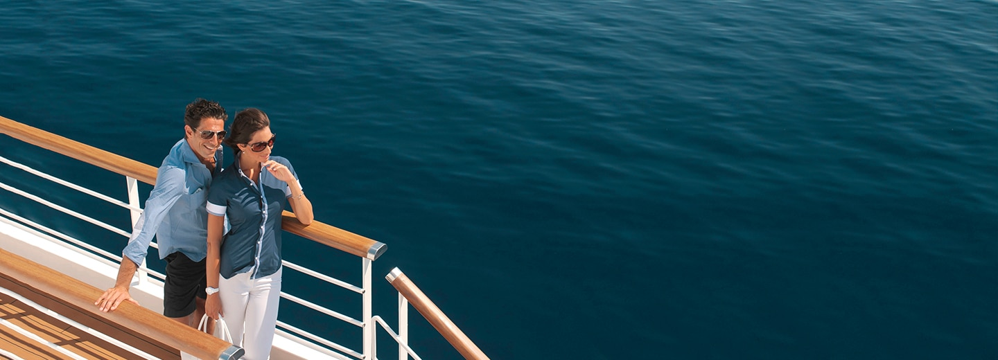 Small Ship Voyages Book Luxury Cruises with Ponant Cruises - relax on deck