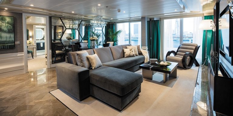 Small Ship Voyages Book Luxury Cruises with Regent Cruises - large comfortable staterooms