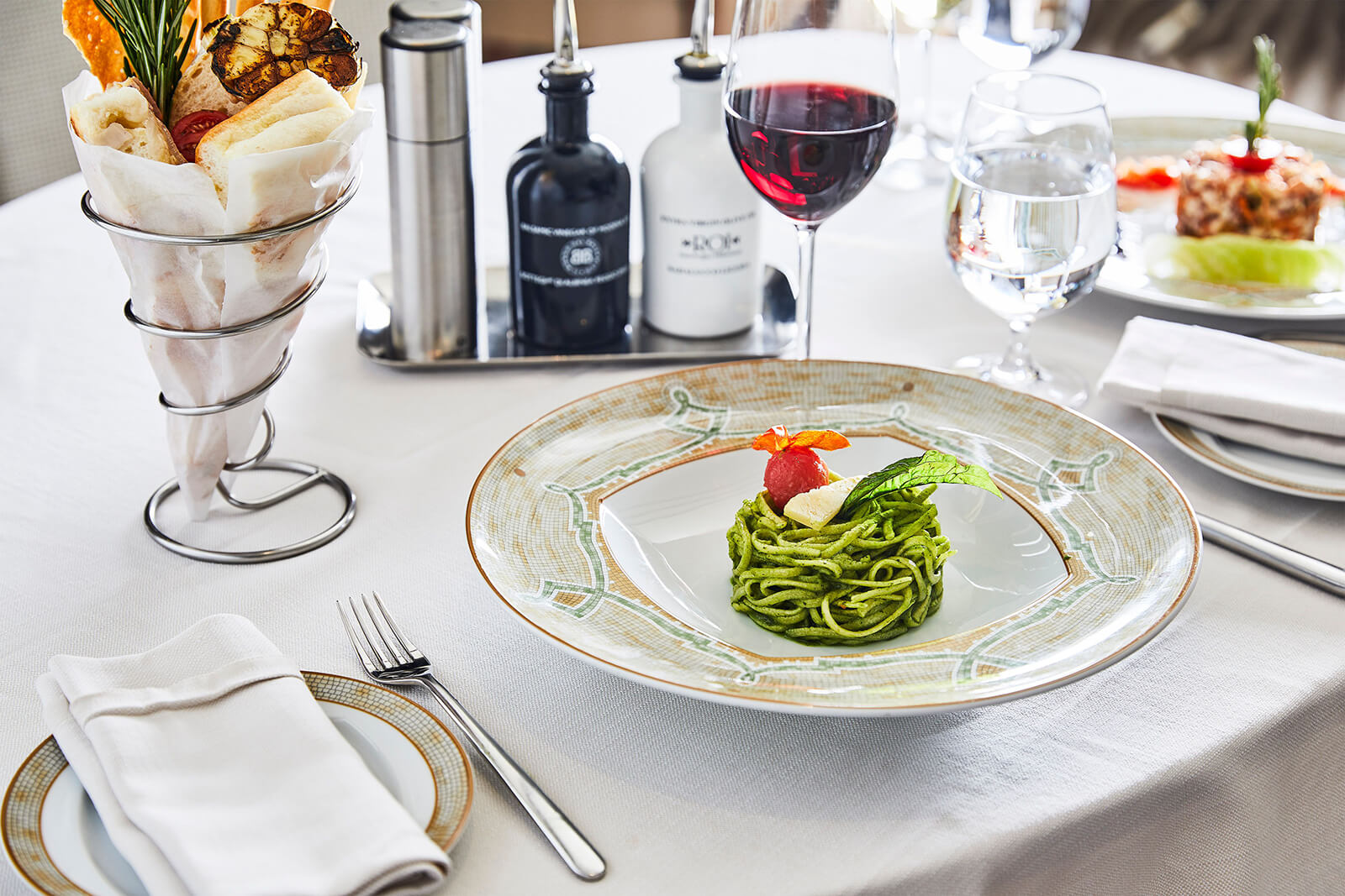 Small Ship Voyages Book Luxury Cruises with Silversea Cruises - fine dining