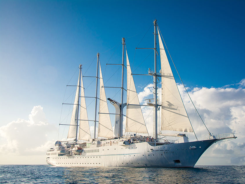 Small Ship Voyages Book Luxury Cruises with Windstar Cruises - explore the world