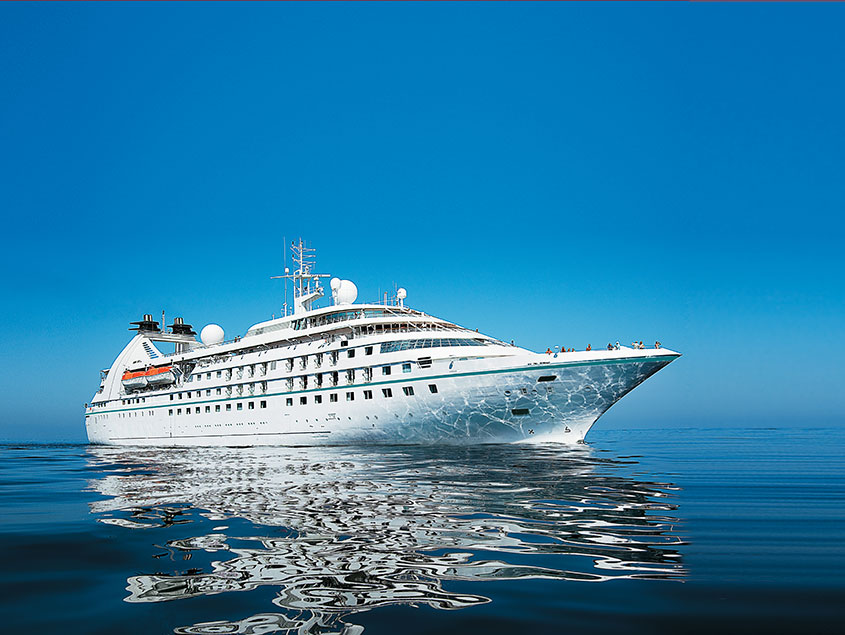 Small Ship Voyages Book Luxury Cruises with Windstar Cruises - 180 Degrees From Ordinary