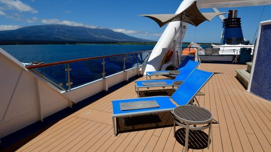 Small Ship Voyages Book Luxury Cruises with Celebrity Expeditions Cruises - Relaxing on deck