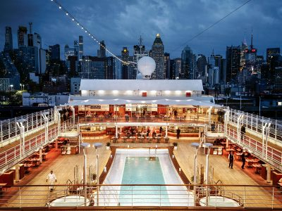 Small Ship Voyages Book Luxury Cruises with Silversea Cruises - pool and deck